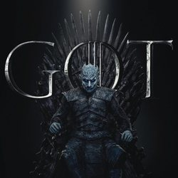 Foto cartel temporada final 'GOT' El Rey de la noche