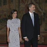 Los Reyes Felipe y Letizia en la cena por la Visita de Estado del Presidente de Perú, Martín Vizcarra