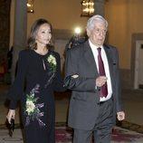 Mario Vargas Llosa e Isabel Preysler en la cena por la Visita de Estado del Presidente de Perú, Martín Vizcarra