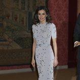 La Reina Letizia en la cena por la Visita de Estado del Presidente de Perú, Martín Vizcarra