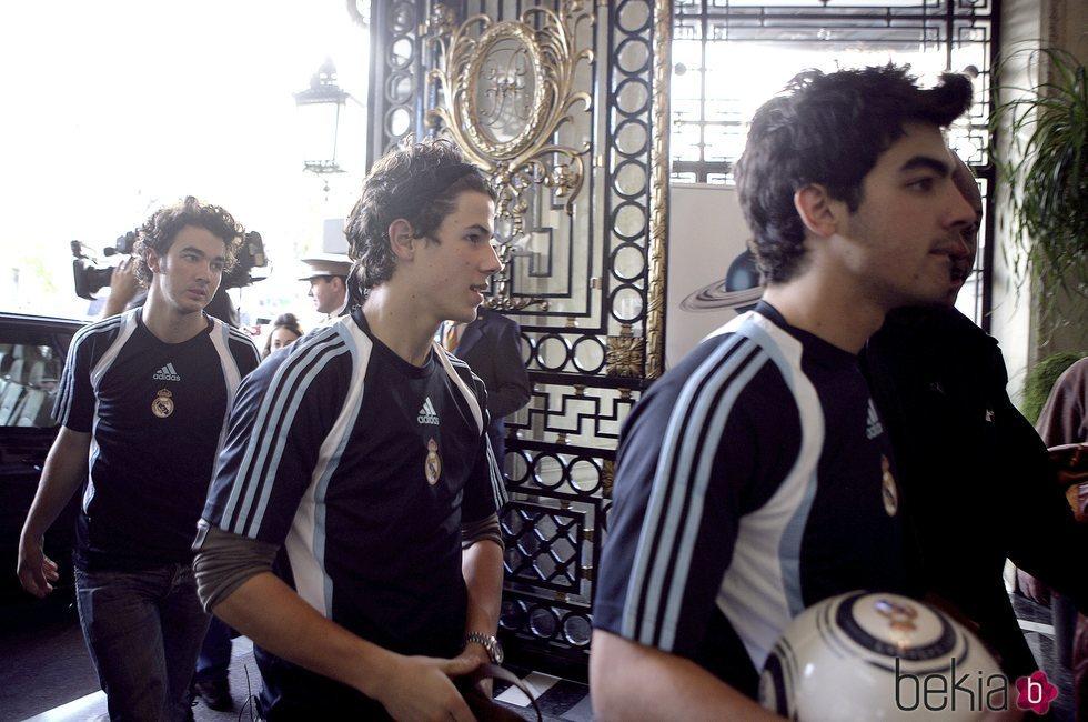 Los Jonas Brothers en Madrid