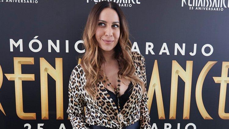 Mónica Naranjo en la presentación de 'Renaissance'