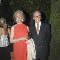 Pitita Ridruejo y Mike Stilianopoulos en la gala Mensajeros de la Paz 2010