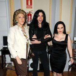 Pitita Ridruejo con Alaska y Mario Vaquerizo