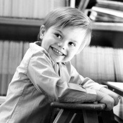 El Príncipe Oscar de Suecia cumple tres años