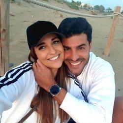 Paula Echevarría y Miguel Torres en la playa