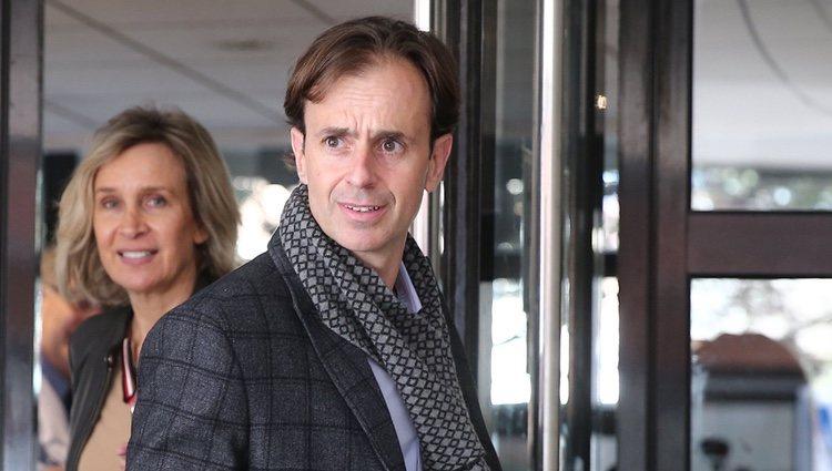 Josep Santacana saliendo del juzgado