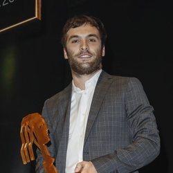 Ricardo Gómez con su premio Fotograma de Plata 2018
