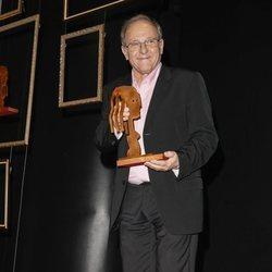 Emilio Gutiérrez Caba con su premios Fotograma de Plata 2018