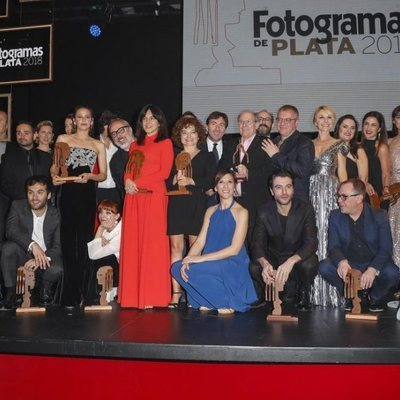 Ganadores e invitados en los Fotogramas de Plata de 2018