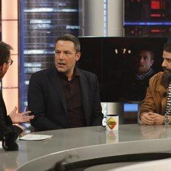 Ben Affleck y Oscar Isaac en 'El Hormiguero'