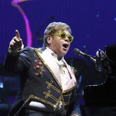 Elton John en Nueva York por su gira 'Farewell Yellow Brick Road'