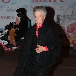 Teresa de Borbón-Dos Sicilias en el 80 cumpleaños de la Infanta Margarita