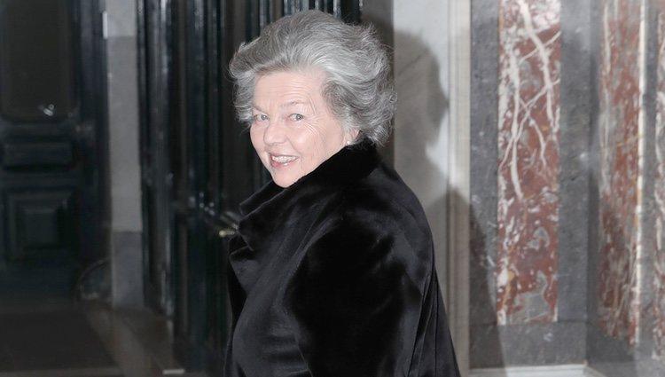 Ana de Francia en el 80 cumpleaños de la Infanta Margarita