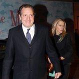 Juan Gómez-Acebo y Winston H. Carney en el 80 cumpleaños de la Infanta Margarita