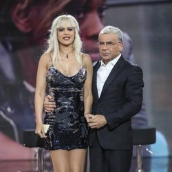 Ylenia con Jorge Javier Vázquez tras ser expulsada en la gala 10 de 'GH DÚO'