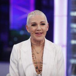 Ana Torroja en una entrevista en 'El Hormiguero' 2019