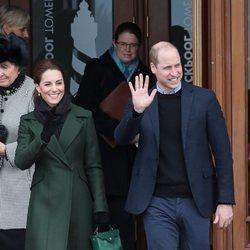 Los Duques de Cambridge en su visita a Blackpool