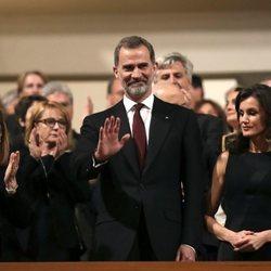 Los Reyes Felipe y Letizia en el concierto 'In Memoriam'
