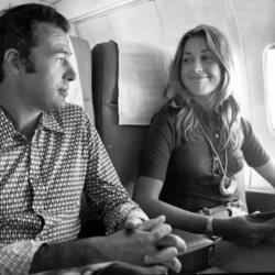 Alfonso de Borbón y Carmen Martínez-Bordiú en la década de los 70