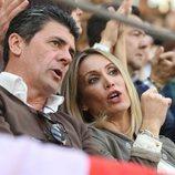 Alejandro Da Silva y Cristina Sánchez en la Feria del Milagro de Illescas