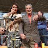 Jaime Ostos y María Ángeles Grajal en la Feria del Milagro de Illescas