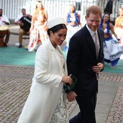 El Príncipe Harry y Meghan Markle en el Día de la Commonwealth 2019