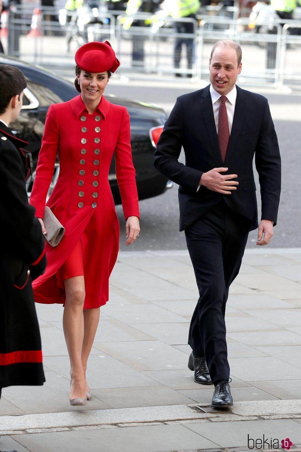 El Príncipe Guillermo y Kate Middleton en el Día de la Commonwealth 2019