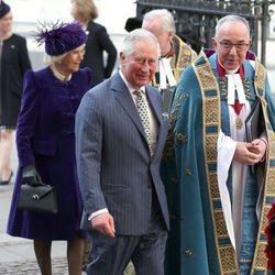 El Príncipe Carlos y Camilla Parker en el Día de la Commonwealth 2019