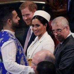 Los Duques de Sussex y el Duque de York en el Día de la Commonwealth 2019
