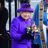 La Reina Isabel en el Día de la Commonwealth 2019