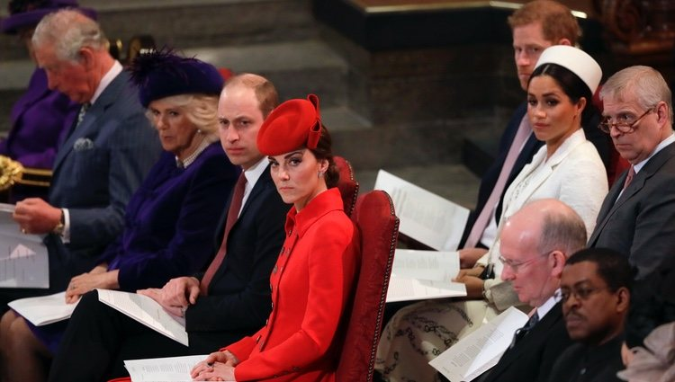 La Familia Real Británica en el Día de la Commonwealth 2019