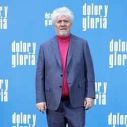 Pedro Almodóvar en la presentación de 'Dolor y gloria'