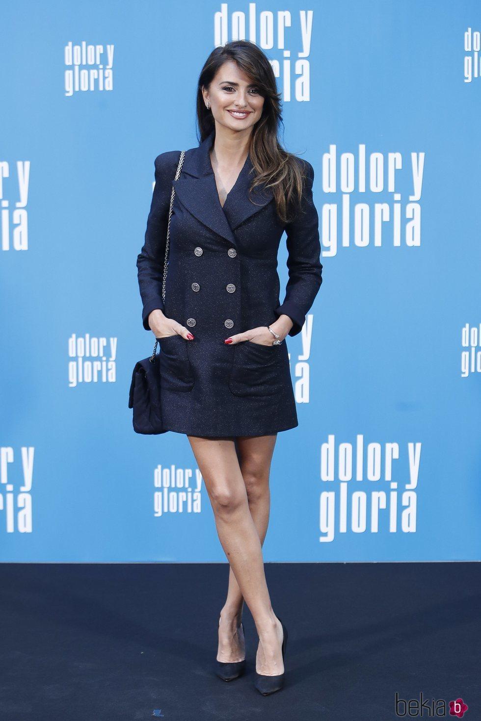 Penélope Cruz en la presentación de 'Dolor y gloria'