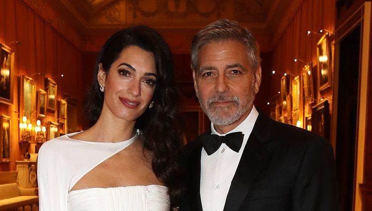 George y Amal Clooney son los invitados de honor de la cena del Príncipe Carlos