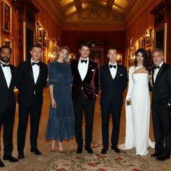 Invitados en la cena del Príncipe Carlos por Prince's Trust