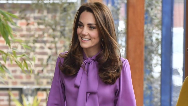 Kate Middleton visita el Henry Fawcett Childen's Centre de Kennington