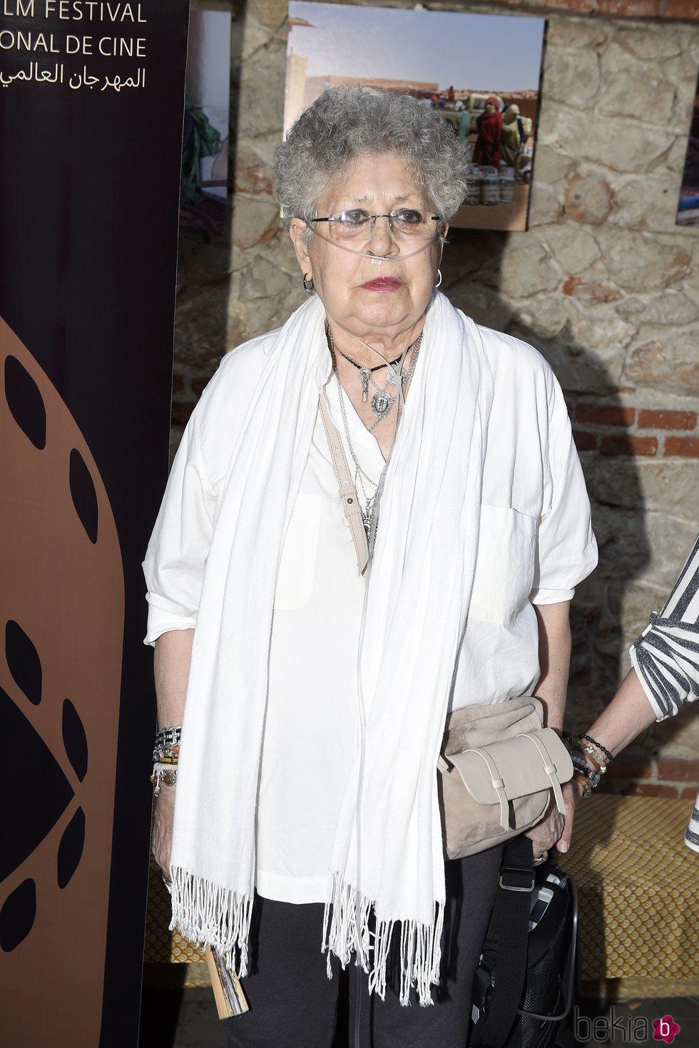 Pilar Bardem en el Fisahara, el Festival Internacional de Cine del Sáhara
