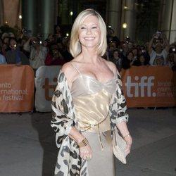 Olivia Newton-John en el festival de cine de Toronto