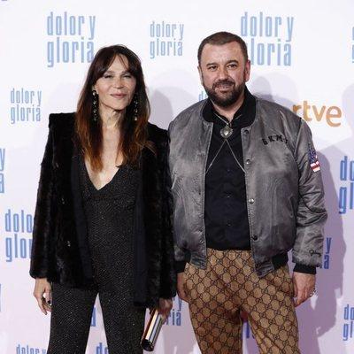Antonia San Juan y Félix Sabroso en la alfombra roja de 'Dolor y gloria'
