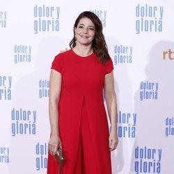 Nora Navas en la alfombra roja de 'Dolor y gloria'