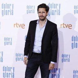 Juan Diego Botto en la alfombra roja de 'Dolor y gloria'