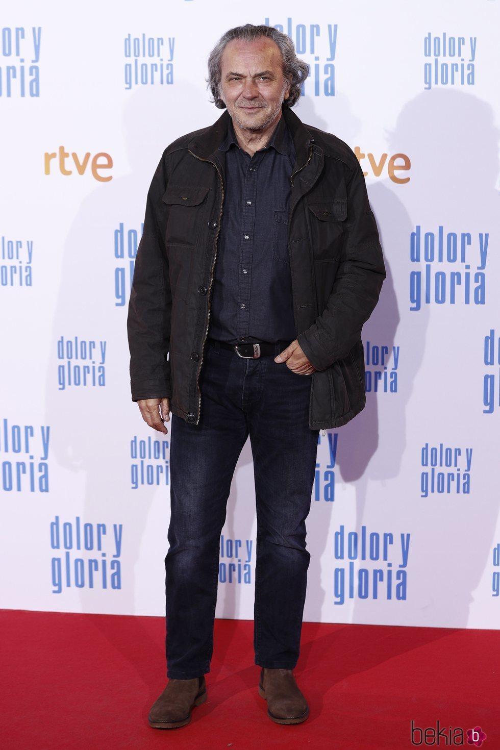 José Coronado en la alfombra roja de 'Dolor y gloria'