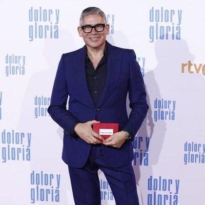 Boris Izaguirre en la alfombra roja de 'Dolor y gloria'