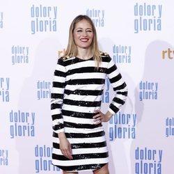 Marta Larralde en la alfombra roja de 'Dolor y gloria'