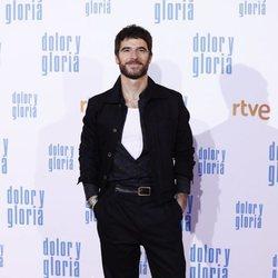 Alfonso Bassave en la alfombra roja de 'Dolor y gloria'