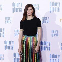 Bárbara Lennie en la alfombra roja de 'Dolor y gloria'
