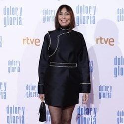 María Barranco en la alfombra roja de 'Dolor y gloria'