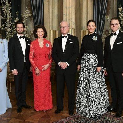 La Familia Real Sueca en la recepción a Stefan Löfven, Primer Ministro de Suecia