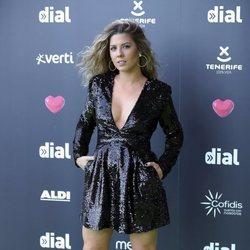 Miriam Rodríguez en los Premios Cadena Dial 2019 en Tenerife